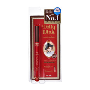 KOJI DOLLY WINK LIQUID EYELINER WP SUPER BROWN