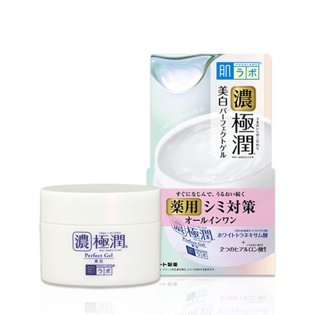 ROHTO HADALABO GOKUJUN WHITE PERFECT GEL