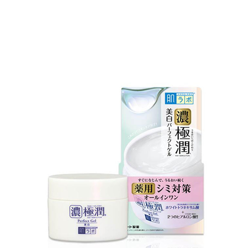 Load image into Gallery viewer, ROHTO HADALABO GOKUJUN WHITE PERFECT GEL