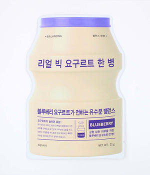 A'Pieu Real Big Yogurt One Bottle Blueberry