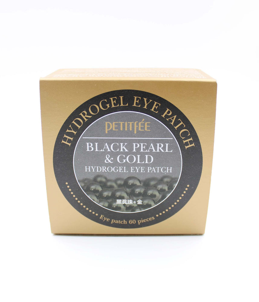 Petitfee Black Pearl& Gold Hydrogel Eye Patch 60 Sheet