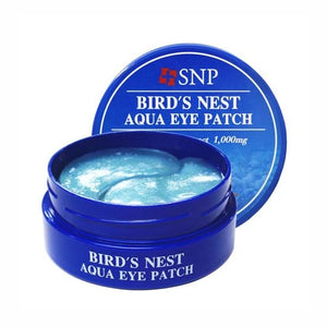 Load image into Gallery viewer, SNP Bird's Nest Aqua Eye Patch 60 Sheet