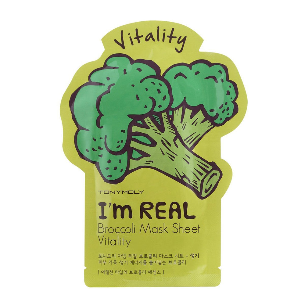 Tonymoly I'm Real Broccoli Mask Sheet