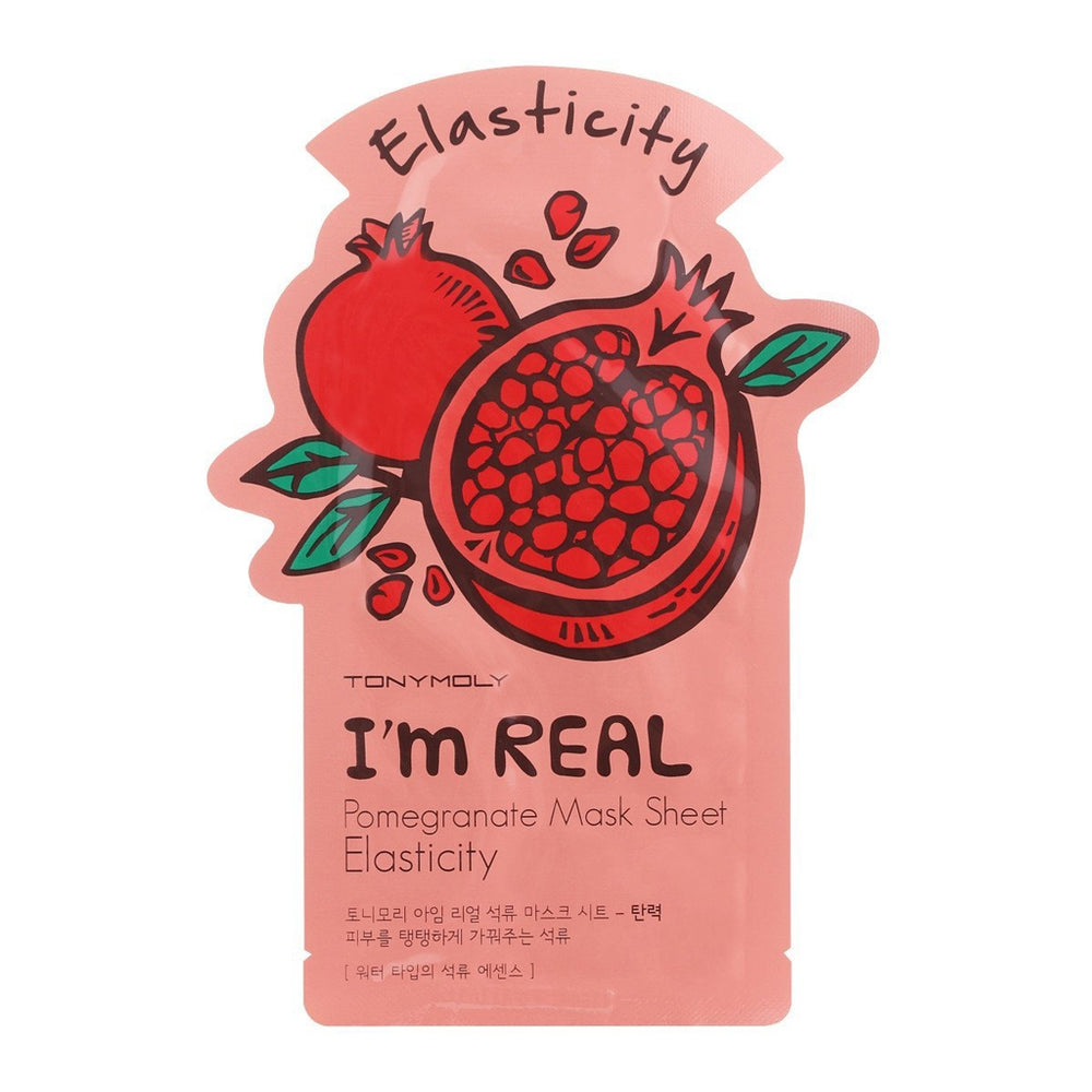Load image into Gallery viewer, Tonymoly I'm Real Pomegranate Mask Sheet