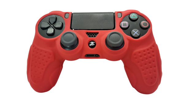Reflex Mk1 Red Grip Playstation 4 | Meta Grips