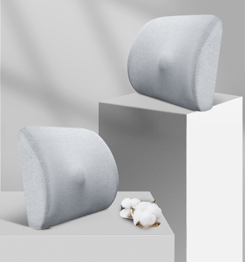 noonkty Cushions,Designed for Back Pain Relief - Lumbar Pillow with Premium Adjustable Strap
