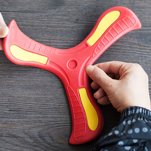 Moidetac Red Bolt Boomerang Fast Catch Boomerangs