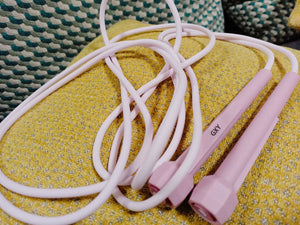 GXY Skipping Ropes, Adjustable Length and Comfortable Grips, for Adults Fitness Women Men