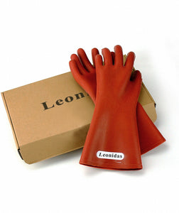 Leonidas Electrical Insulated Rubber Gloves Electrician 12KV High Voltage Safety Protective Work Gloves Insulating for Lineman