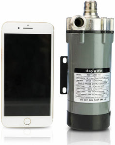 dayuwz Home Brewing Pump, MP-15RM Magnetic Beer Water Pump,Stainless Steel 304 Food Grade