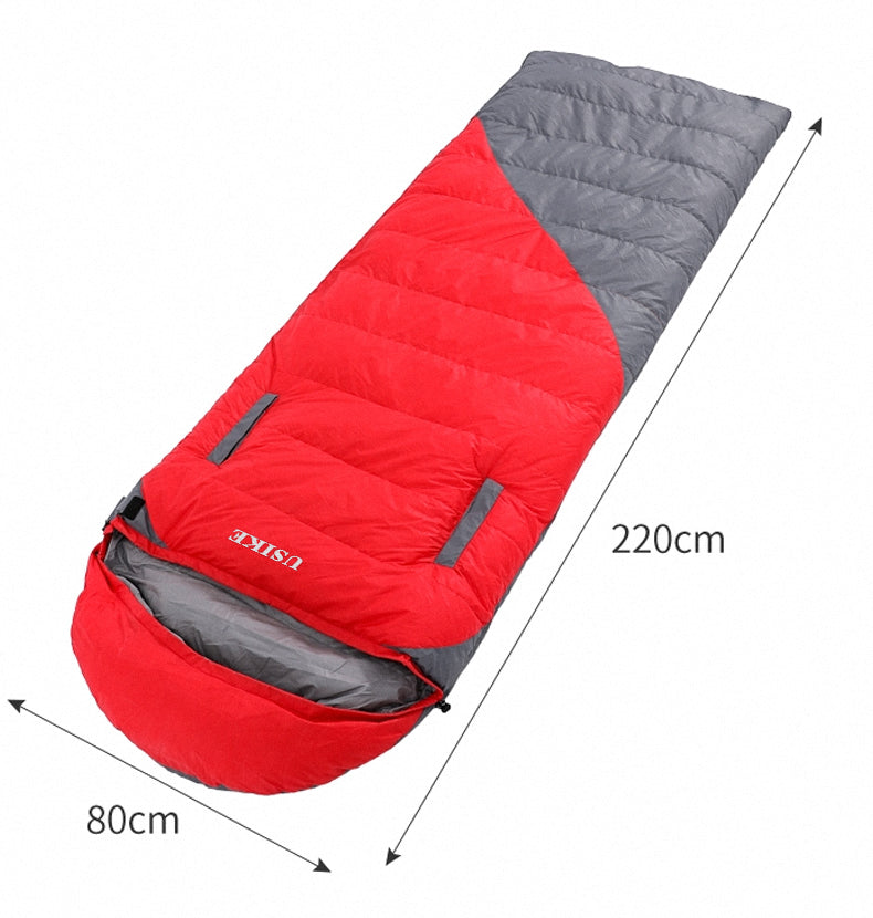 USIKE Sleeping Bag -Lightweight, Portable, Waterproof Sleeping Bag with Compression Sack for Adults & Kids