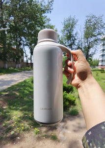 LKERLAN Vacuum Insulated Bottle ,304 Stainless Steel Insulated Flask,1500ML