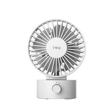 Load image into Gallery viewer, TWQ Mini Classic Personal Vintage Air Circulator Fan, White