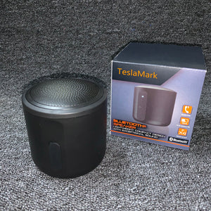 TeslaMark Portable Bluetooth Speaker,Mini Wireless Speakers with Rich Bass and Loud HD Sound,TF Card Support,Built-in-Mic