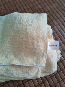 Romint Bath Towel, Durable Highly Absorbent Soft Bath Towel,30 x 54, Yellow