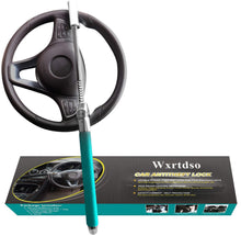 Load image into Gallery viewer, Wxrtdso Steering Wheel Lock for Cars,Vehicle Anti-Theft Lock(Green)