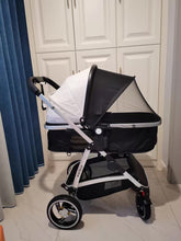 Load image into Gallery viewer, natkie Pram Stroller with Bassinet for Newborn Baby and Toddler Reclining Seat