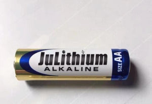 JuLithium Batteries Alkaline AA Batteries, 1.5V Double A Long Lasting Alkaline AA Battery, 20 Count