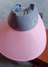 Load image into Gallery viewer, Qfibkr Hats, Summer UV Protection, with Foldable Package, for Women, Pink