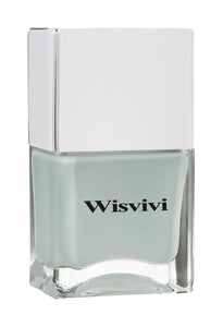 Wisvivi Nail Polish, Gray Blue, 0.46 fl. oz.