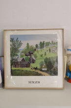 "Load image into Gallery viewer, HXZS Framed Paintings, 16""x16""x1.25"""