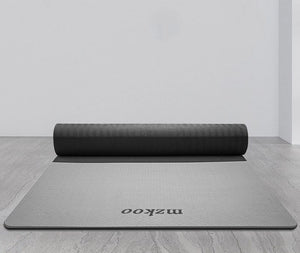"mzkoo Yoga Mat Yoga Cushions 6mm Extra Thick Cushion Mat Doublesided Non Slip Best Fitness TPE Yoga Mat for Women (72"" x 24"")"