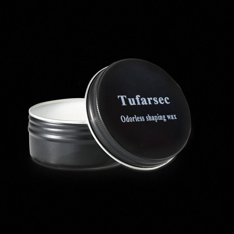 Tufarsec Hair Wax Matte Styling Pomade for Men - Strong Hold,  Water Based & Free of Greasy Oils 2oz