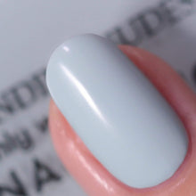 Load image into Gallery viewer, Wisvivi Nail Polish, Gray Blue, 0.46 fl. oz.