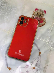 BROxiongdi Cases for Smartphones, iPhone 12 Mini Case 2020, Ultra Thin, 5.4-inch, Red