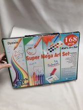 Load image into Gallery viewer, Dyzixin Painting Sets for Children Color Pencils Watercolour Brushes and Crayons Set 168 Pcs Painting Supply