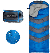 Load image into Gallery viewer, GELRAMOE Camping Sleeping Bag, Travel Pillow with Compact Compression Sack , 4 Season Sleeping Bag