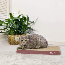 Load image into Gallery viewer, Mefirt Cat Scratcher, Scratching Pad, Durable Recyclable Cardboard with Catnip