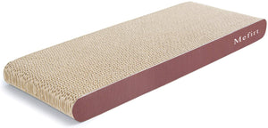 Mefirt Cat Scratcher, Scratching Pad, Durable Recyclable Cardboard with Catnip