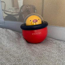 Load image into Gallery viewer, ENOCHT Infant Toys,  Baby Chicken Tumbler Toy Silicone,Toddler Wobbler Chime Bell