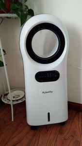 Ajnelly Portable Air Cooler Fans Leafless for Bedroom, Premium Cooling Fan with Water Tank, Remote Control
