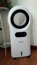 Load image into Gallery viewer, Ajnelly Portable Air Cooler Fans Leafless for Bedroom, Premium Cooling Fan with Water Tank, Remote Control