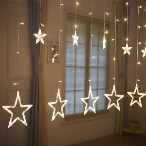Ajnelly Fairy Lights for Festive Decoration for Christmas, Wedding, Party, Home Decorations (Warm White) 9.8Feet