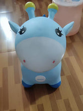 Load image into Gallery viewer, Nevienri Inflatable Toys,Ride-on Hopper Horse, Blue