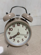 Load image into Gallery viewer, Odokee Alarm Clocks, with Twin Bell, Battery Operated, Non Ticking Loud, for Home & Office