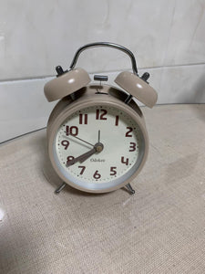 Odokee Alarm Clocks, with Twin Bell, Battery Operated, Non Ticking Loud, for Home & Office
