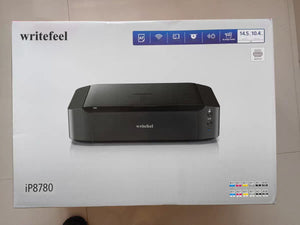 writefeel IP8780 Wireless Printer, AirPrint and Cloud Compatible, Black