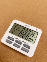 Load image into Gallery viewer, yoncon Timers, Dual Digital, Large LCD Screen, Silent, Multi-Function for Teachers Kids