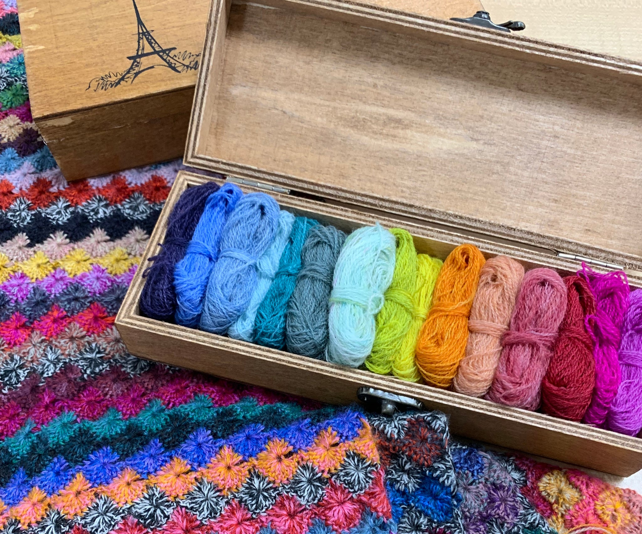 Fine Merino 15-colour box