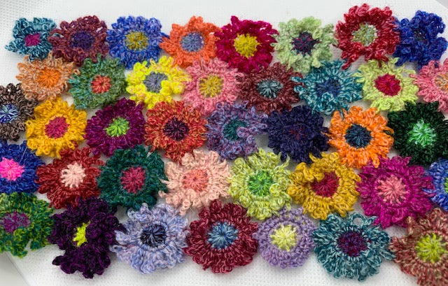 Frilly Flowers Pattern