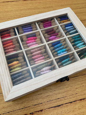 A Very Fine Merino Luxury box of 80 colours
