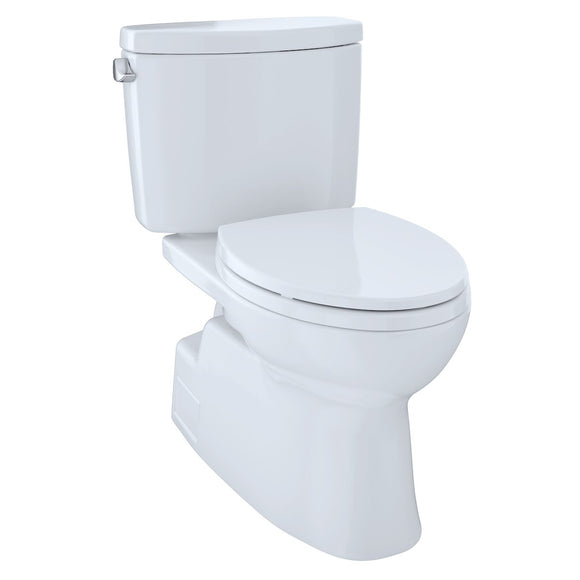 TOTO® Vespin® II Two-Piece Elongated 1.28 GPF Universal Height Skirted Design Toilet