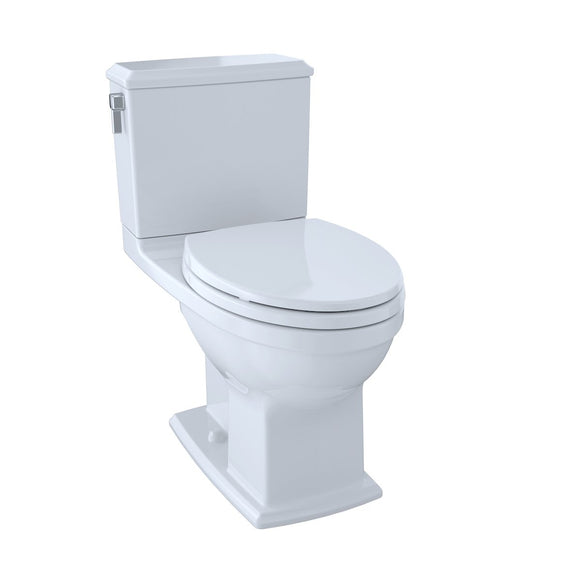 TOTO® Connelly® Two-Piece Elongated Dual-Max®, Dual Flush 1.28 and 0.9 GPF Universal Height Toilet