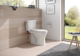 TOTO® Drake® Two-Piece Elongated Dual Flush 1.6 and 0.8 GPF DYNAMAX TORNADO FLUSH® Toilet