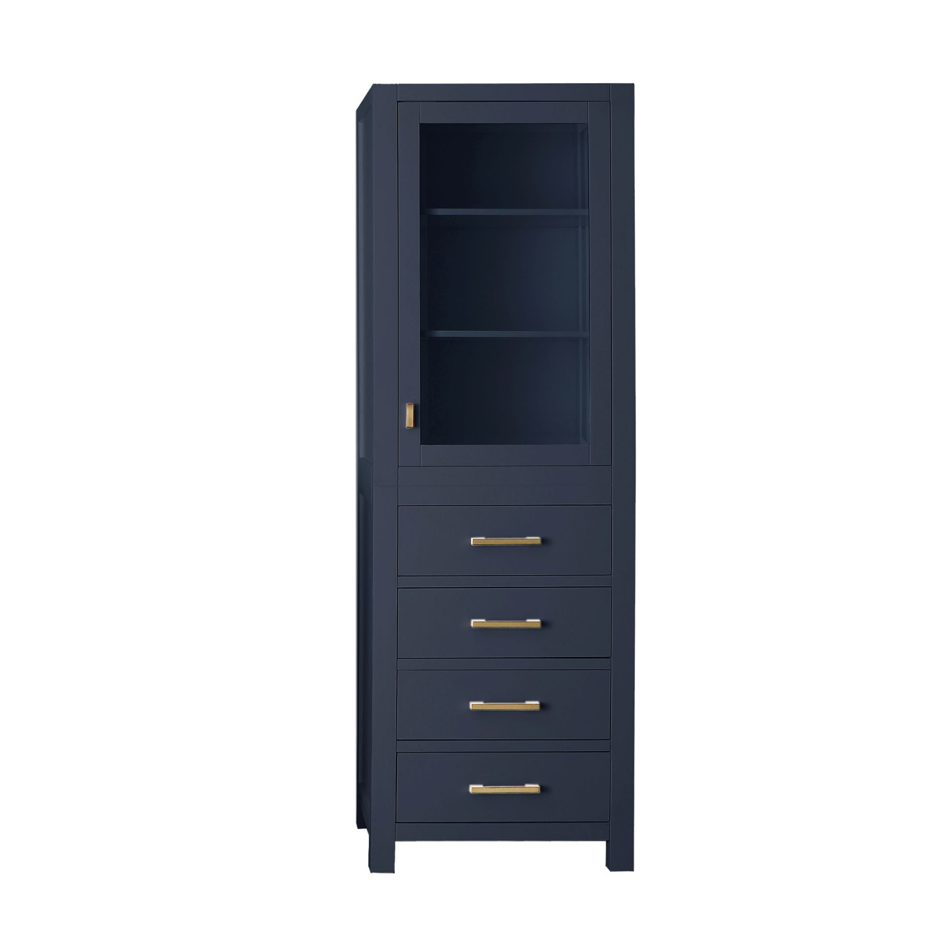 "Modero 24"" Linen Tower in Navy Blue"