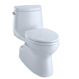 TOTO® Carlyle® II One-Piece Elongated 1.28 GPF Universal Height Skirted Toilet